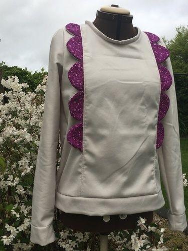 Makerist - Sweat Ysee de l'usine à bulle  - Créations de couture - 1