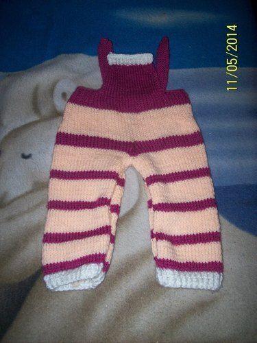 Makerist - Trägerhose für Babys - Strickprojekte - 1