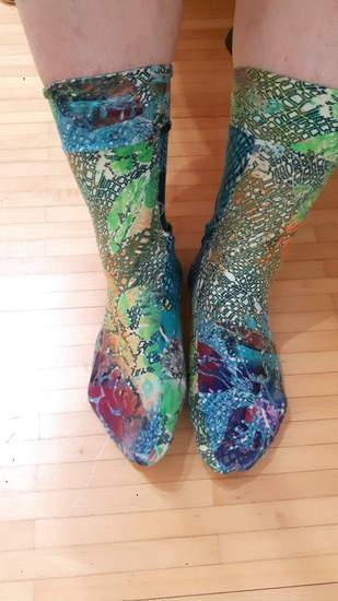 Makerist - Aus Jersey genähte Socken - 1