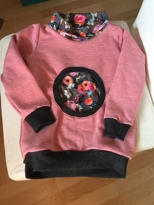 Makerist - Bullaugen-Hoodie aus Sommersweat für meine Nichte - 1