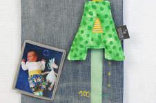 Makerist - Eine Messlatte zum 1. Geburtstag - 1