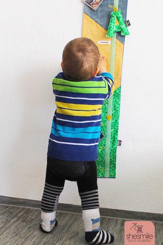 Makerist - Eine Messlatte zum 1. Geburtstag - Nähprojekte - 3