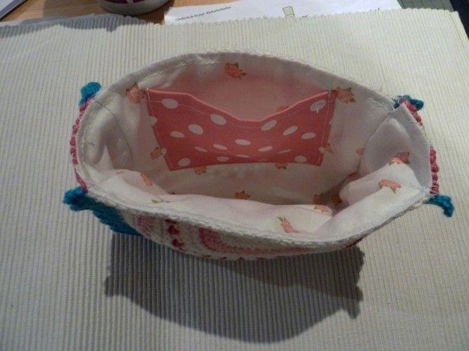 Makerist - Häkeltasche in Pastelfarben - Häkelprojekte - 3