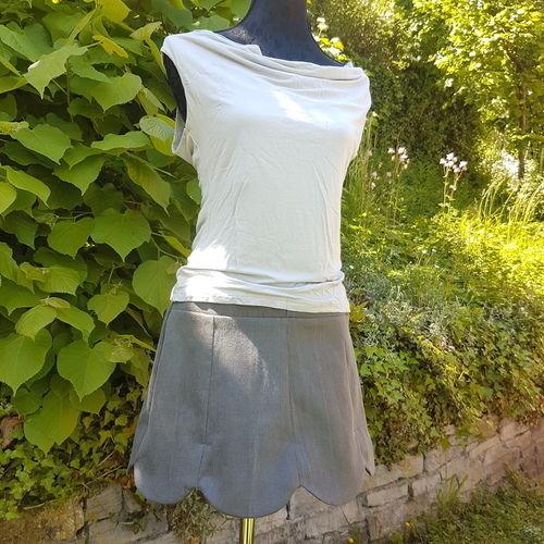 Makerist - Jupe Lipsi à partir d'un jeans - Créations de couture - 1