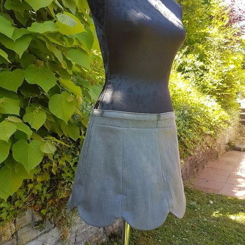 Makerist - Jupe Lipsi à partir d'un jeans - Créations de couture - 3