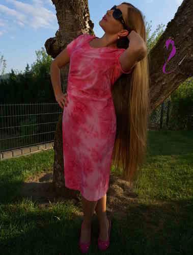Makerist - Kleid Joyce in Pink - Nähprojekte - 1