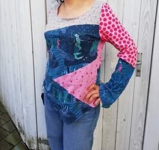 Makerist - Puhzzleshirt aus Jersey  - 1
