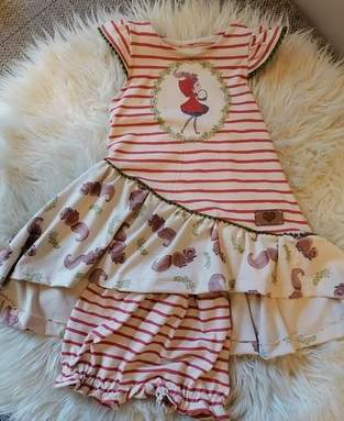 Rotkäppchen Kleid