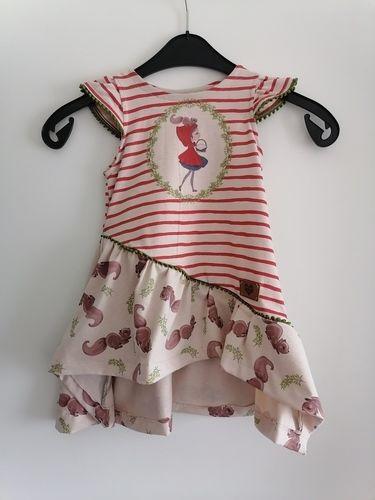 Makerist - Rotkäppchen Kleid  - Nähprojekte - 2