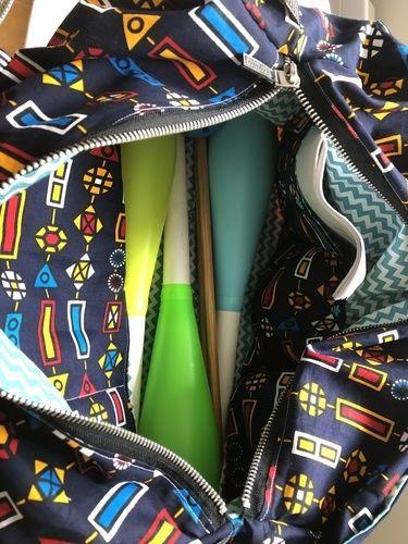 Makerist - Ma version du sac Georges en plus grand pour ranger le matériel de jongle - Créations de couture - 2