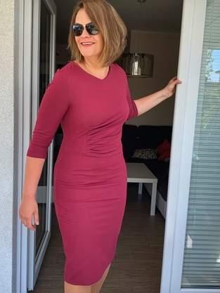 Kleid Joyce von Schnittmusterlounge in Größe 42 / Cup D