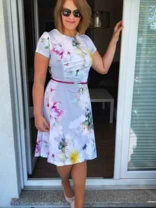 Kleid Joyce Cup D - Viskosejersey - Größe 42