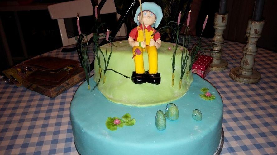 Makerist - Angler-Geburtstagstorte - Torten, Cake Pops und Cupcakes - 1