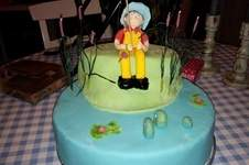 Makerist - Angler-Geburtstagstorte - 1