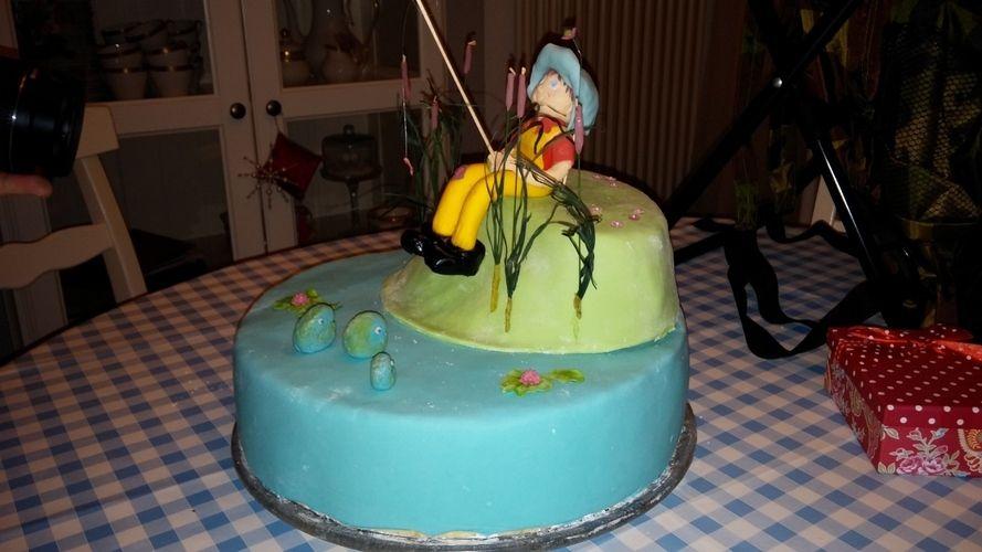 Makerist - Angler-Geburtstagstorte - Torten, Cake Pops und Cupcakes - 2