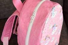 Makerist - Sac à dos Achille en tissu licorne - 1