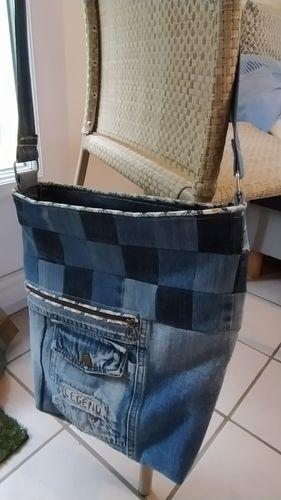 Makerist - Sac Maenwenn jeans - #makeristalamaison - 1