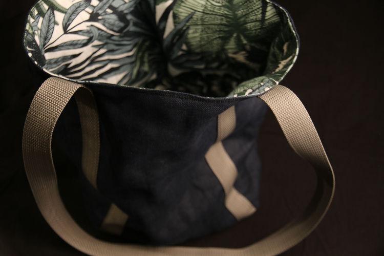 Makerist - Umhängebeutel Wocheneinkauf aus Leinen und fester Baumwolle - Nähprojekte - 2