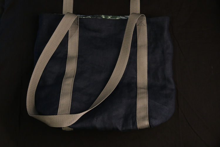 Makerist - Umhängebeutel Wocheneinkauf aus Leinen und fester Baumwolle - Nähprojekte - 3