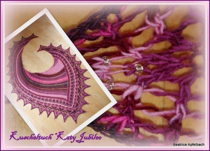 """Makerist - Kuscheltuch """" Katy Jubilee """" - Strickprojekte - 1"""