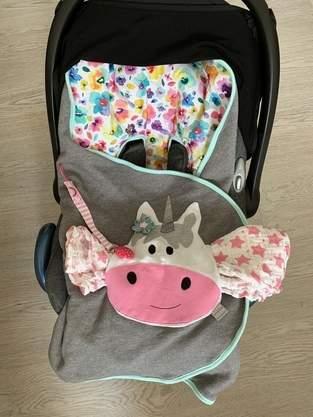 Einschlagdecke für Babyschale