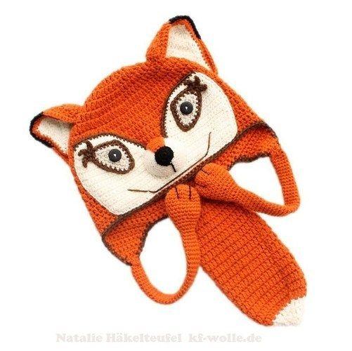 Makerist - Mütze Fuchs - Häkelprojekte - 1
