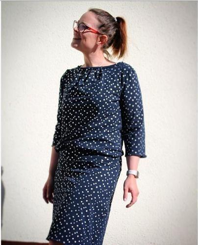 Makerist - Ein schickes Jersey-Kleid für den Sommer  - Nähprojekte - 1