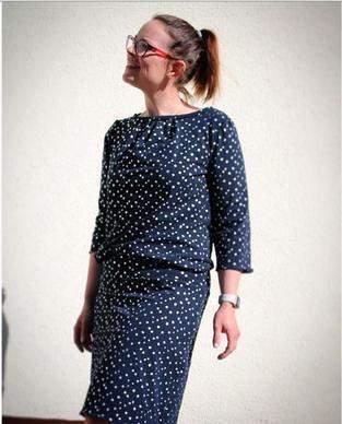 Makerist - Ein schickes Jersey-Kleid für den Sommer  - 1