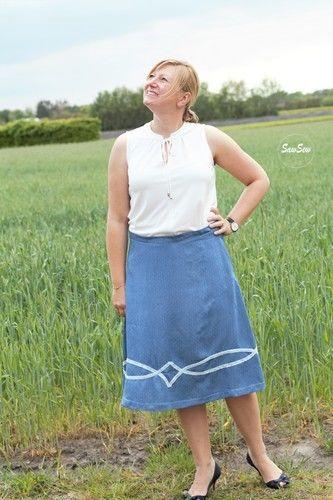 Makerist - Becky aus Jeans Chambray - Nähprojekte - 1