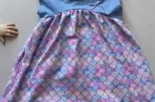 Makerist - Mädchenkleid AVA aus Jersey für meine Mädels  - 1