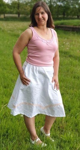 Makerist - Rock Becky aus Baumwolle oder Leinen für Damen  - Nähprojekte - 1