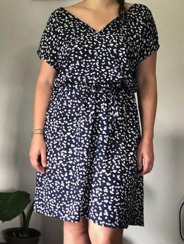 Makerist - Robe Esmée en viscose - Créations de couture - 1