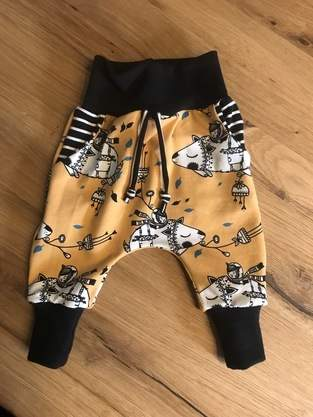 Makerist - Baby Baggy Pants aus Jeresey - 1