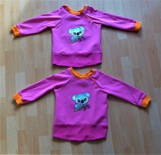 Makerist - ich habe für meine Enkelkinder (Zwilinge) Sweatshirt genäht - Nähprojekte - 1
