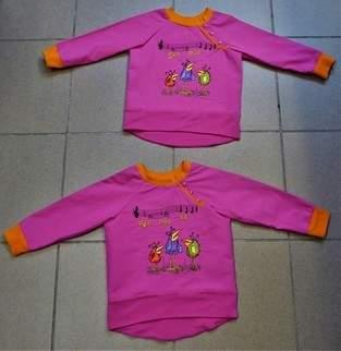 Makerist - ich habe für meine Enkelkinder (Zwilinge) Sweatshirt genäht - 1