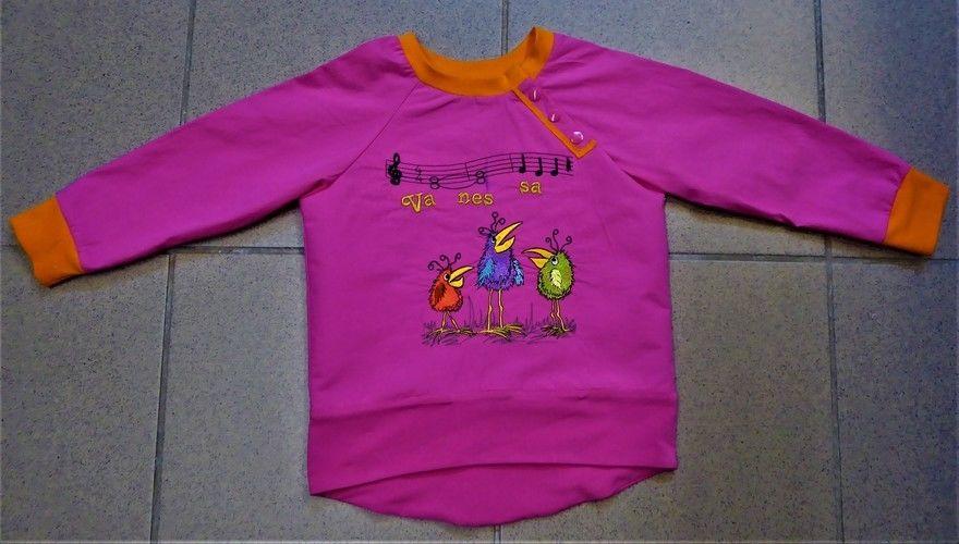 Makerist - ich habe für meine Enkelkinder (Zwilinge) Sweatshirt genäht - Nähprojekte - 2
