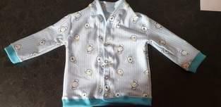 Makerist - Babyjacke aus Jersey für meinen Enkel  - 1
