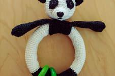 "Makerist - Babyrassel ""littele Panda"" - 1"