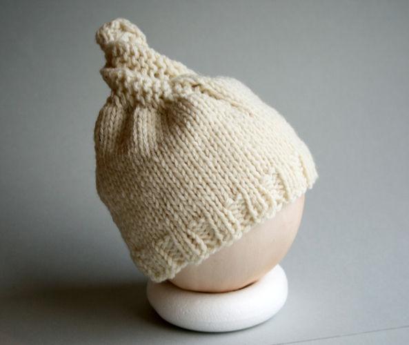 Makerist - Spiralschneckenmütze für Babys - Strickprojekte - 2