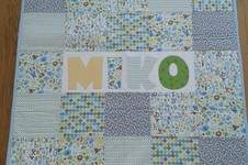Makerist - Babydecke Patchwork - 1