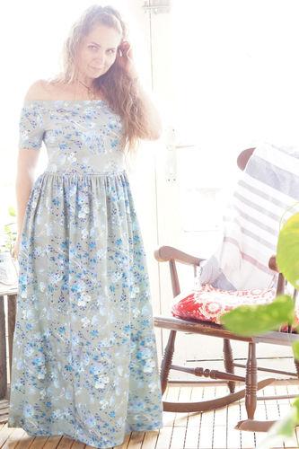 Makerist - Sommer (Prinzessinnen) maxikleid  - Nähprojekte - 1