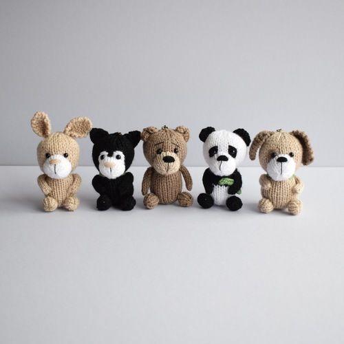 Makerist - Pocket Pals Animal Keyrings - Knitting Showcase - 1