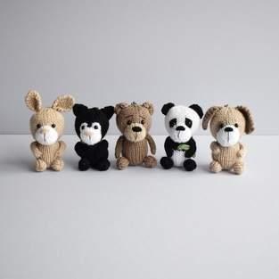 Makerist - Pocket Pals Animal Keyrings - 1