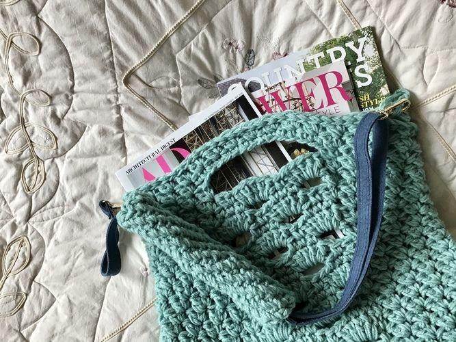 Makerist - The Tangier Tote Bag - Crochet Showcase - 1