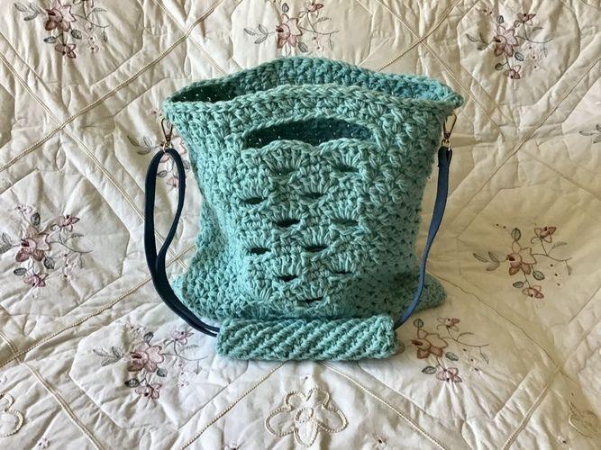 Makerist - The Tangier Tote Bag - Crochet Showcase - 3