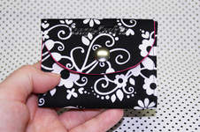 Makerist - Kleiner Geldbeutel - innen pink - 1
