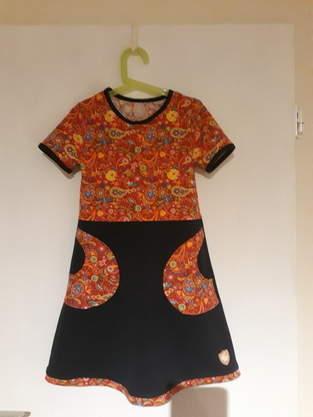 Kinderkleid Yoko in 128