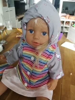Puppenkleider und Jacke