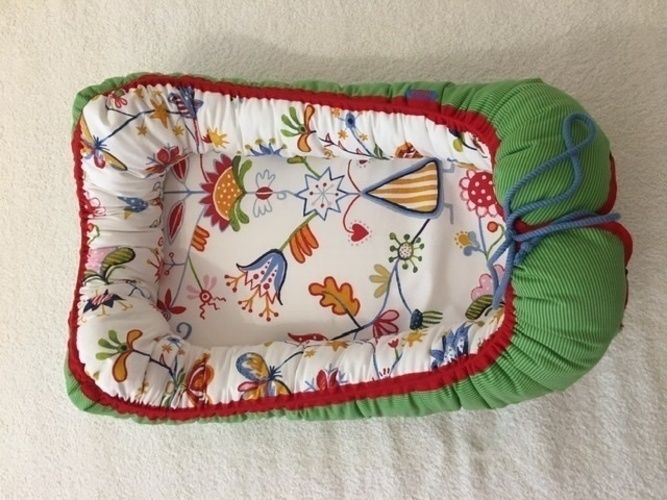 Makerist - Babynest für meinen neuen Enkel - DIY-Projekte - 1