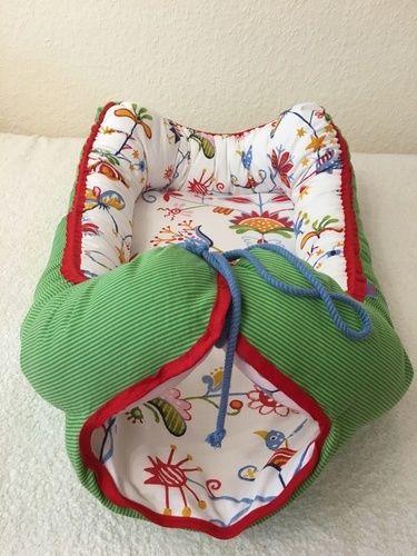 Makerist - Babynest für meinen neuen Enkel - DIY-Projekte - 2